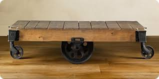 industrial coffee table with wheels industrial coffee table on wheels rustic wooden material clear
