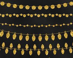 gold glitter string etsy