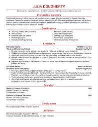 sle resumes for teachers changing careers resume sles science jobs best sle resume exle for computer
