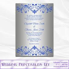 Wedding Template Invitation 790 Best Wedding Templates Images On Pinterest Wedding Templates