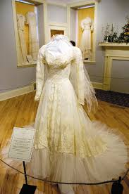 display wedding dress wedding memories vintage dresses on display at burritt gowns galore