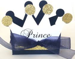 Prince Favors by Crown Favor Box Etsy