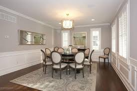 Traditional Dining Room With Pendant Light  Wainscoting In Rumson - Dining rooms with wainscoting