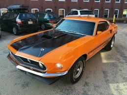 1969 mustang orange ford mustang fastback 1969 grabber orange for sale 9t02h134446