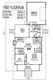 2 Story 4 Bedroom Floor Plans Arts And Crafts Two Story 4 Bath House Plans 3000 Sq Ft W