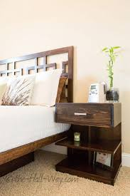 nightstand 37 fearsome small bedroom nightstands pictures ideas