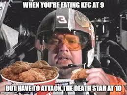 Kfc Chicken Meme - porkins loves his kfc imgflip