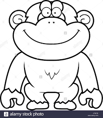 chimpanzee illustration stock photos u0026 chimpanzee illustration