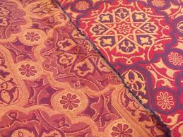 Upholstery Fabric Outlet Melbourne Celtic Gothic Blue Gold Red Tapestry Upholstery Fabric Au Fil De