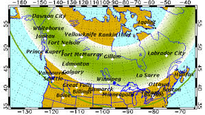 northern lights location map northern lights expected the next 2 nights bemidji pioneer