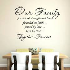 Quot Love Anchors The Soul - family saying wall decals quote art our quotes on infinity hope