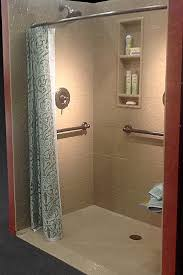 accessible shower doors ramped roll in shower alternatives wet rooms solid surface