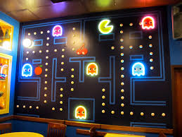 pac man room at the blueberry hill restaurant in st louis mo