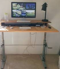 Diy Motorized Desk Beautiful Diy Adjustable Standing Desk Photos Liltigertoo