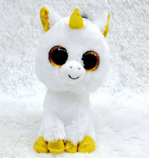 cute color unicorn ty beanie boos plush stuffed toys glitter eyes