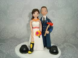 fireman cake topper 40 unique firefighter wedding cake toppers wedding idea