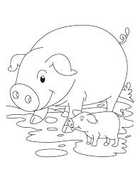 pig piglet coloring download free pig piglet