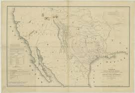Map Of The State Of Texas Texas History Austin And Texas History Information Guides At