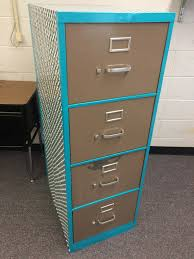 Teal File Cabinet Ugly Filing Cabinet Makeover Rhoda Design Studio