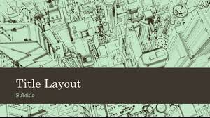 free building sketch template for powerpoint online free