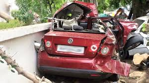 volkswagen jetta 2018 latest car accident of volkswagen jetta in india road crash