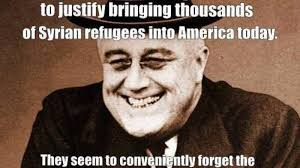 Meme Knowledge - meme shows liberals have no knowledge of history regarding refugees