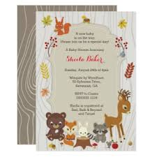 woodland baby shower invitations invitation for baby shower outstanding woodland baby shower