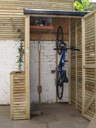 Backyard Storage Solutions Unique Bike Storage Solutions Outdoor 65 For Home Pictures With