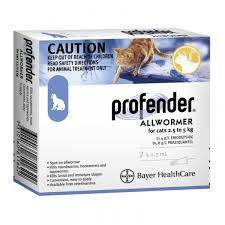 profender allwormer for cats senior health health care