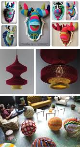 taxidermy home decor crochet housewares lamps yoga balls and faux taxidermy made