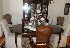 Skirted Parsons Chairs Dining Room Furniture Carrington Court In Your Home Customer Photos