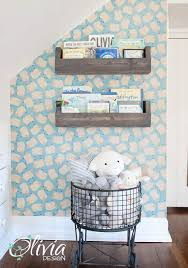 peel and stick vinyl wallpaper baby nursery sheep accent wall peel and stick vinyl wallpaper