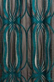 Brown Patterned Curtains Teal Curtains For Living Room Aqua Patterned Curtains Innovative