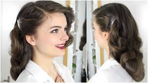40s brush out on long hair tutorial youtube