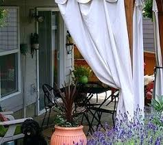 Outdoor Privacy Curtains Outdoor Curtains For Porch Teawing Co