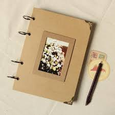 scrapbook for wedding photo album kraft scrapbook album wedding album wedding guest book