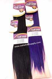 4 Piece Clip In Hair Extensions by 9 Piece Clip In Extension U0027 100 Remy Hair By Jazz Wave Waba Hair