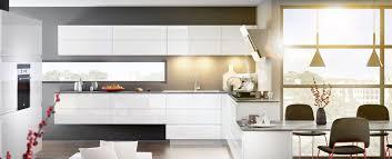 cuisine contemporaine blanche ambiance mobalpa cuisine équipée et cuisine moderne blanche