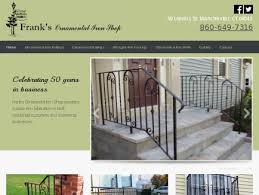Frank Banister Frank U0027s Ornamental Iron Shop Railings Fencing Manchester Ct