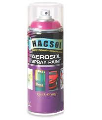 hacsol candy tone aerosol spray paint candy red made in malaysia