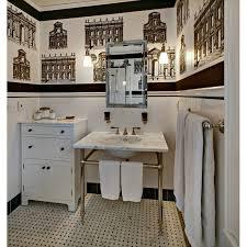 1920 bathroom medicine cabinet classic black and white bath remodel bathroom design by tracey