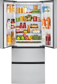 28 Inch Door Interior Amazon Com Haier 15 Cu Ft French Door Refrigerator 28