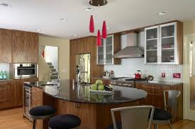 Kitchen With Bar Table - enhancing your kitchen dining area with a round table