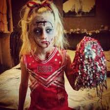 Girls Cheerleader Halloween Costume Age 7 15 Girls Zombie Cheerleader Costume Halloween Fancy