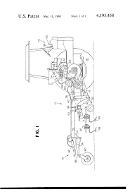 patent us4193458 tractor and implement and hydraulic system