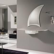 mensole laccate lucide mobile da ingresso con mensola e cassetto sand arredaclick