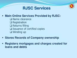 stock photo company the register of joint stock companies and firms rjsc name