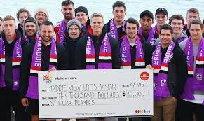 maddie s players donate headline0 000 to maddie s vision saints com au