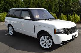 land rover hse white land rover rang rover hse 2012 pre owned