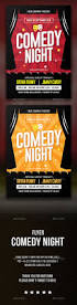 comedy night flyer by tokosatsu graphicriver